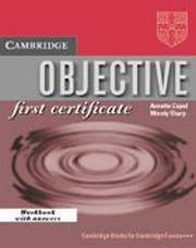 OBJECTIVE First Certificate, Capel Annette, Sharp Wendy