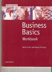 Buisness Basics, David Grant, Robert McLarty