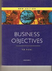 Business Objectives New Edition, Vicki Hollett