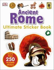 ksiazka tytuł: Ancient Rome Ultimate Sticker Book autor: