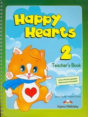 ksiazka tytuł: Happy Hearts 2 Teacher's Book autor: Dooley Jenny, Evans Virginia
