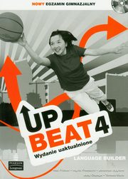 ksiazka tytuł: Upbeat 4 Language Builder + CD autor: Fricker Rod, Freebairn Ingrid, Bygrave Jonathan
