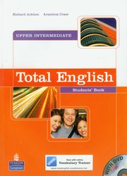 ksiazka tytuł: Total English Upper-Intermediate Student's Book with DVD autor: Acklam Richard, Crace Araminta