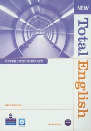 New Total English Upper-Intermedia Workbook z płytą CD, Foley Mark