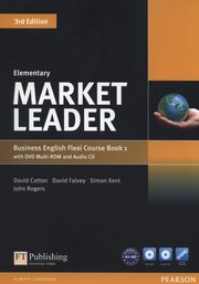 Market Leader Elementary Flexi Course Book 1+CD +DVD, Cotton David, Falvey David, Kent Simon, Rogers John