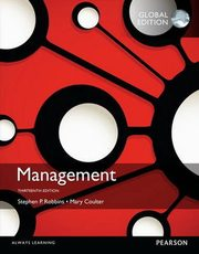 Management with MyManagementLab Global Edition, Coulter Mary, Robbins Stephen