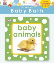 Squeaky Baby Bath Book Baby Animals,