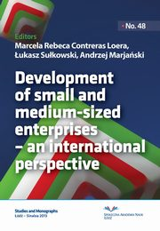 ksiazka tytuł: Development of small and medium-sized enterprises ? an international perspective autor: