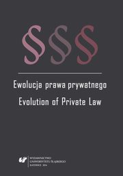ksiazka tytuł: Ewolucja prawa prywatnego - 05 Unfair competition in the Czech Republic after re-codification of private law autor: