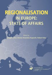 ksiazka tytuł: Regionalisation in Europe: The State of Affairs - 04 Problems of Regionalisation in Hungary ? An Unsuccessful Pilot autor: